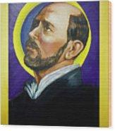 Saint Ignatius Loyola Wood Print