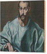 Saint James The Elder Wood Print