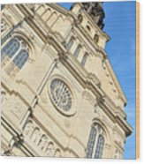 Saint Jean Baptiste Church In Quebec City Wood Print