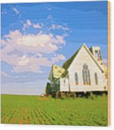 Saint John Wood Print