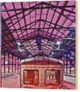 Saint Lazare Station Wood Print