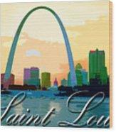 Saint Louis Wood Print