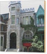 Saint Louis Square 9 Wood Print