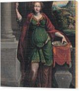 Saint Lucy Wood Print
