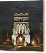 Saint Lukes East Hampton Wood Print