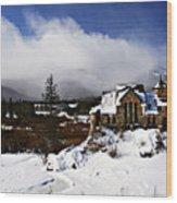Saint Malo Church Colorado Wood Print