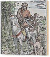 Saint Martin (c316-397) Wood Print