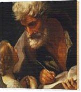 Saint Matthew 1621 Wood Print