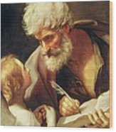 Saint Matthew Wood Print