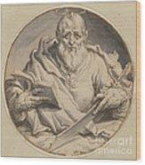 Saint Matthew Wood Print