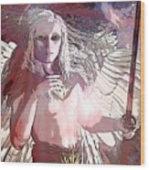 Saint Michael Doll 2 Wood Print