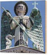 Saint Michael The Archangel Lucca Tuscany Wood Print