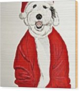 Saint Nick Wood Print