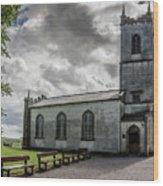 Saint Patricks Church On The Hill Of Tara Wood Print
