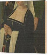 Saint Paul And A Donatrix Wood Print