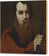 Saint Paul  Wood Print by Jusepe de Ribera