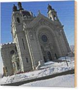Saint Pauls Cathedral Wood Print