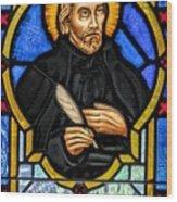 Saint Peter Canisius Wood Print
