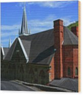 Saint Peters Roman Catholic Church In Harpers Ferry West Virginia Wood Print