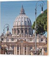 Saint Peter's Tomb Wood Print