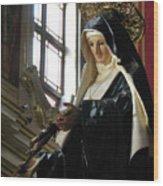 Saint Rita Wood Print
