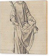 Saint Stephen Wood Print