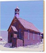 Saint Teresa Wood Print