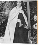 Saint Therese De Lisieux Wood Print