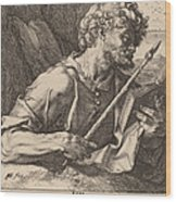 Saint Thomas Wood Print