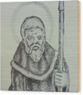 Saint Wulfric The Miracle Worker Wood Print