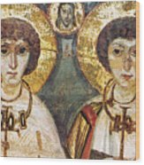 Saints Sergius And Bacchus Wood Print