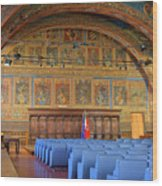 Sala Dei Notari 13th Century Wood Print