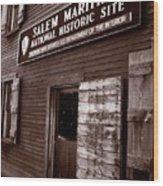 Salem Maritime Wood Print