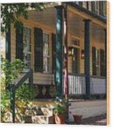Salem Tavern Wood Print