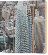 Salesforce Tower In San Francisco Wood Print