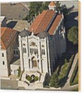 Salesian Church  3737 Wood Print