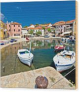 Sali Village On Dugi Otok Island Wood Print