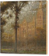 Salisbury Cathedral Wood Print