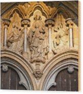 Salisbury Cathedral Doors Wood Print