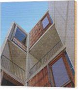 Salk Architecture Wood Print