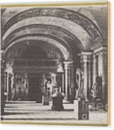 Salle Des Cariatides, Au Mus?e Du Louvre Wood Print
