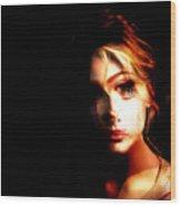 Sally White. Always First, Always Best Wood Print