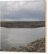 Salmon Falls Creek Reservoir Wood Print