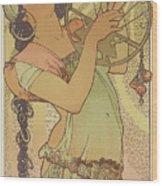 Salome, 1897 Wood Print