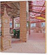 Salt Hotel, Salar De Uyuni, Bolivia Wood Print