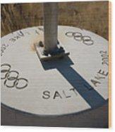 Salt Lake Olympics 2002 Wood Print