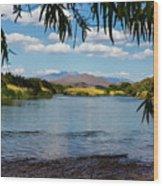 Salt River Arizona Wood Print