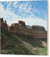 Salt River Canyon Arizona Wood Print