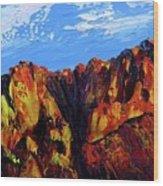 Salt River Canyon Wood Print