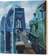 Saltash Bridge. Wood Print
